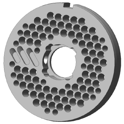 U200, Seperating Hole Plates, Lateral – Stainless Steel